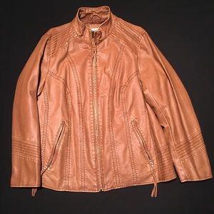 Dressbarn size 14/16 brown jacket.